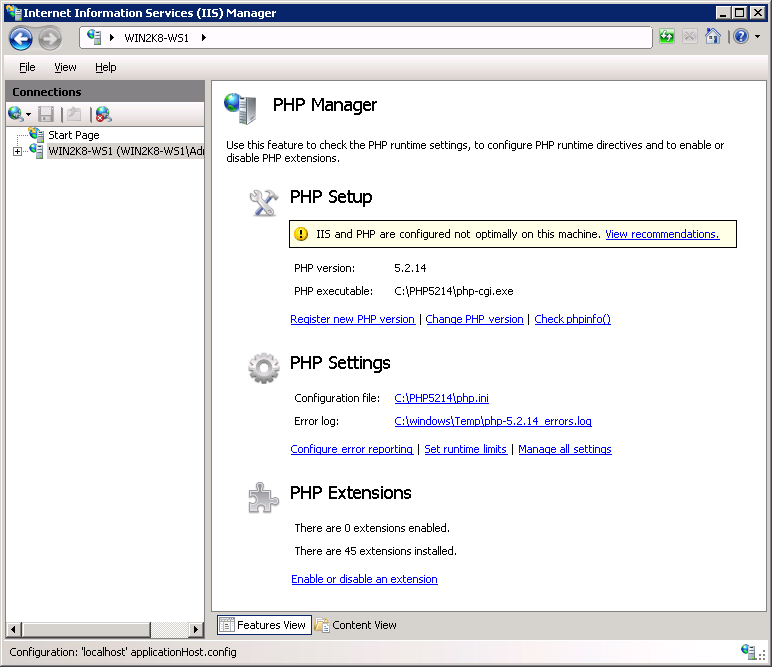 PHP Manager 2.4 for IIS10,IIS8,IIS7 下载