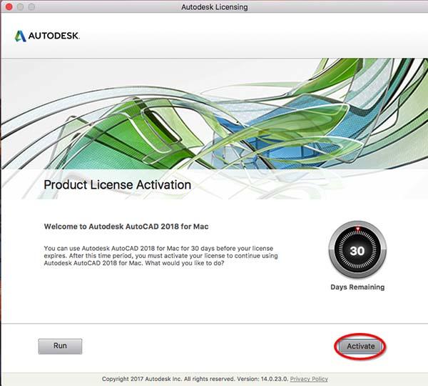 AutoCAD2018mac AutoCAD2018mac注册机
