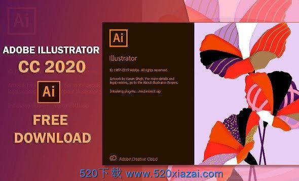 Adobe Illustrator 2021 v25.0.0.6 免激活特别版 下载