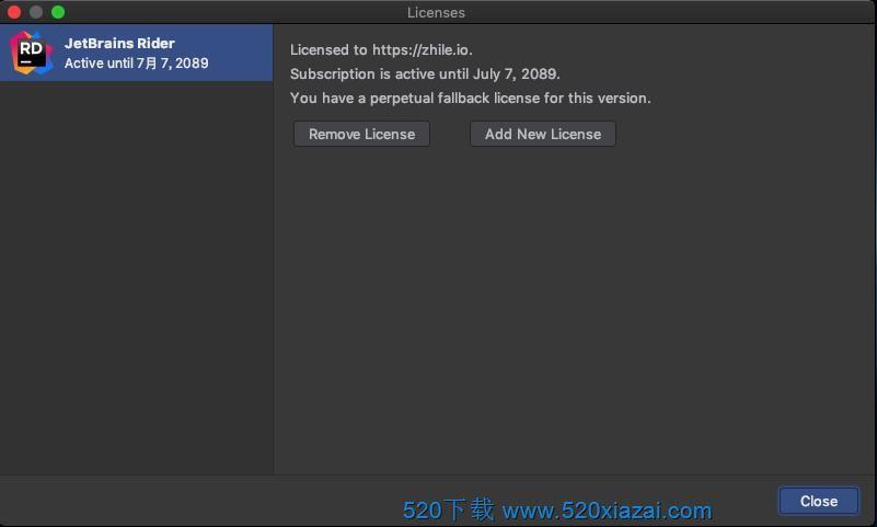 Rider2020.3.2 mac JetBrains