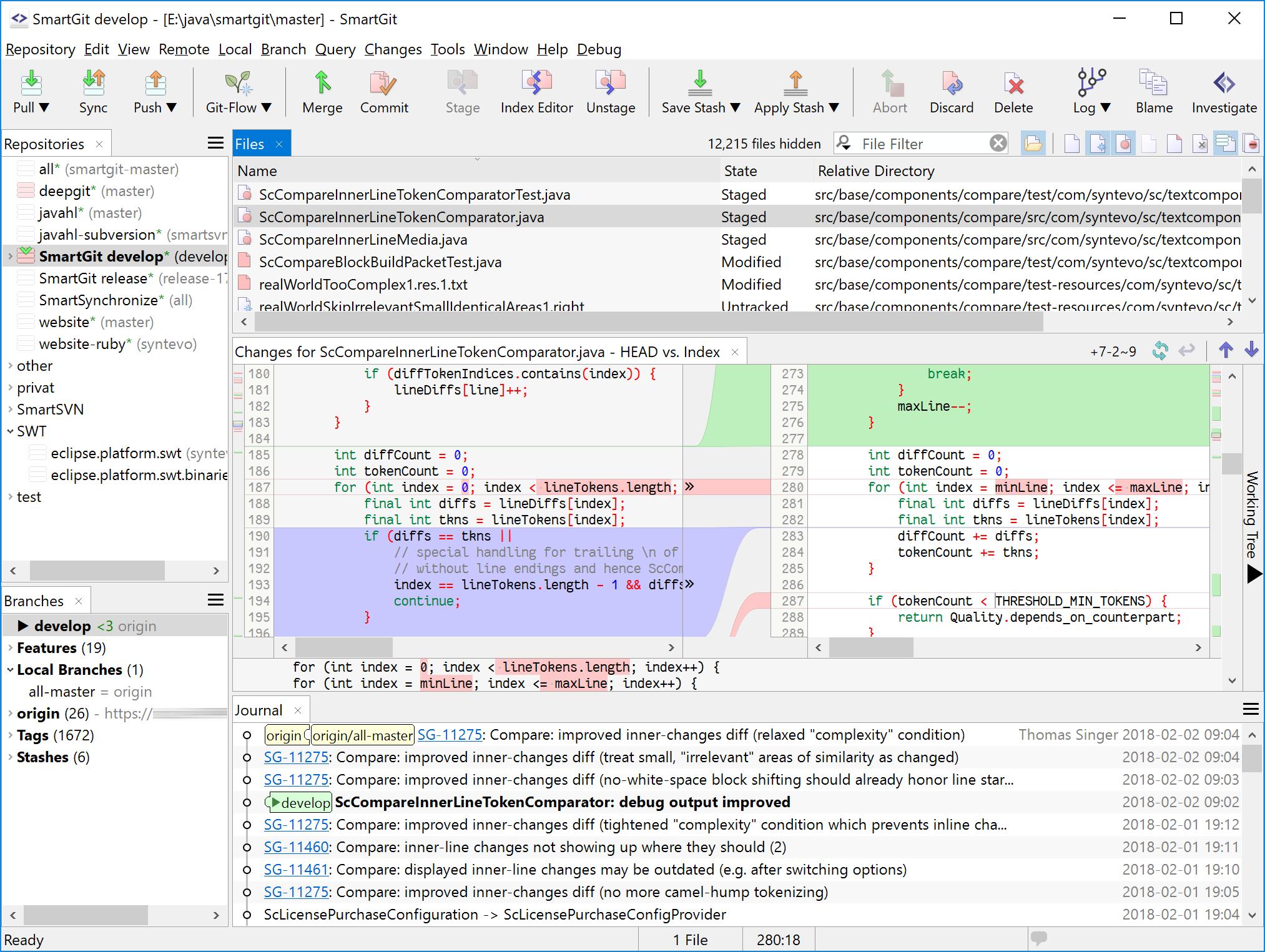 SmartGit20.1.5 mac SmartGit