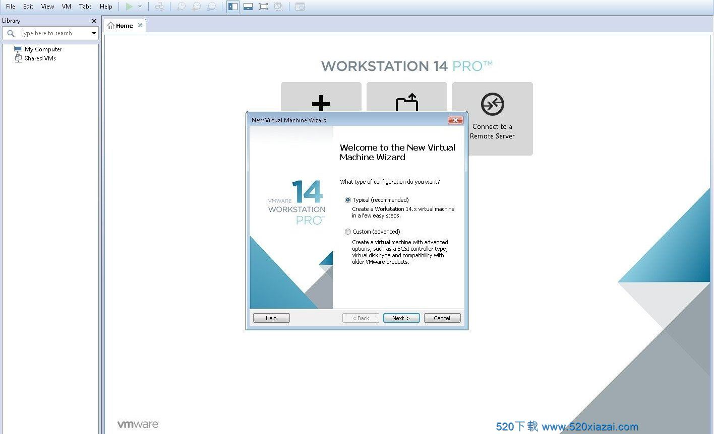 VMware Workstation14.1.8 VMware最新版下载