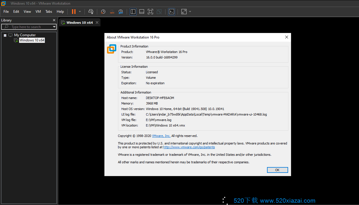 VMware Workstation16.1.0 VMware16.1.0网盘下载