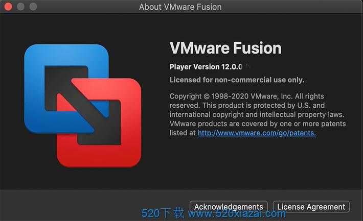 VMware Fusion12.0.0 VMware