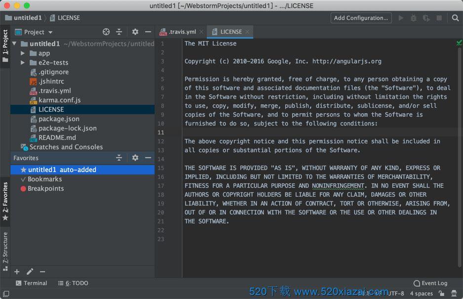 WebStorm2020.3.2 mac WebStorm2020.3.2mac