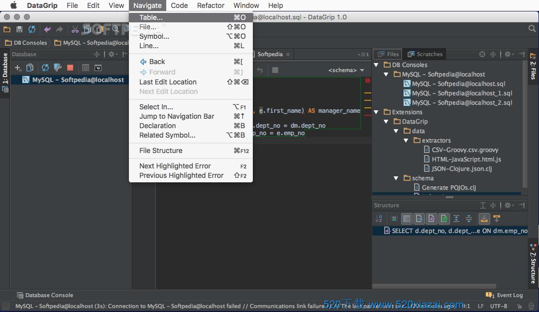 DataGrip2020.3.2 mac DataGrip 2020.3.2 for mac