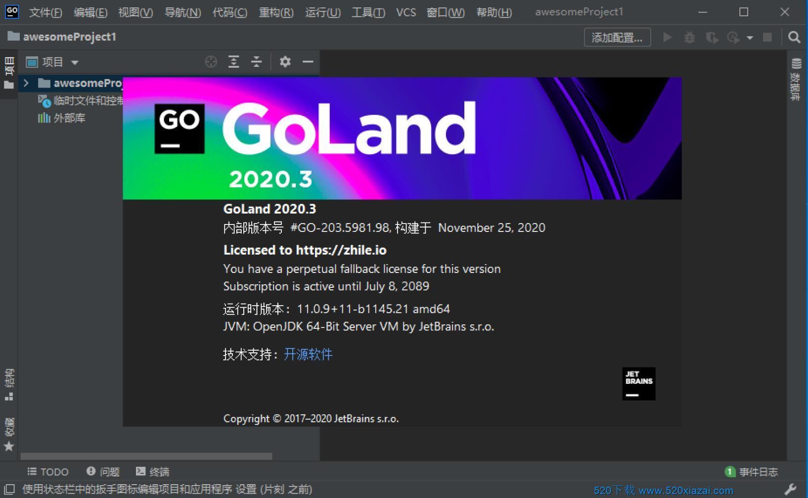 GoLand2020.3 GoLand2020.2免费版