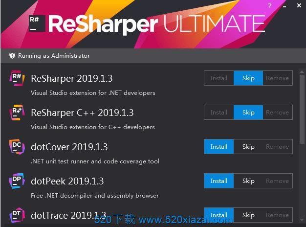Resharper2019.1 Resharper