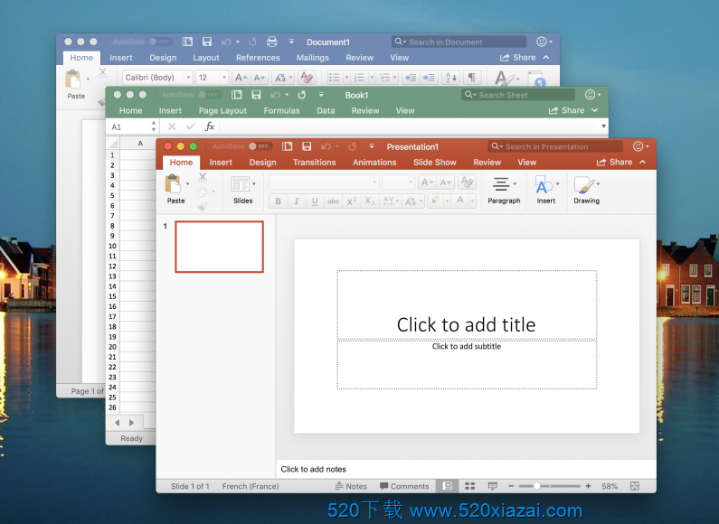 Office for Mac2021 office2021官方原版