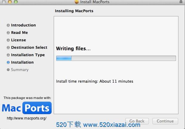 MacPorts 2.6.4 包管理软件下载