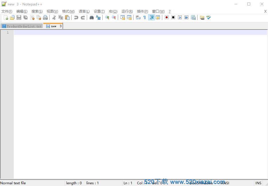 Notepad++v7.8.9 网页代码编辑器
