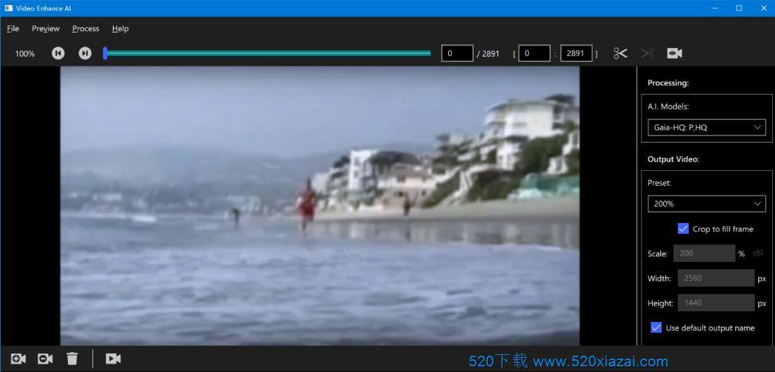 Topaz Video Enhance AIv2.1.0 TopazVideo2.1.0破解版